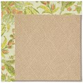 Capel Rugs Creative Concepts Cane Wicker - Cayo Vista Mojito (215) Octagon 10