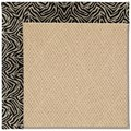 Capel Rugs Creative Concepts Cane Wicker - Wild Thing Onyx (396) Octagon 12