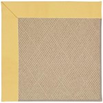 "Capel Rugs Creative Concepts Cane Wicker - Canvas Canary (137) Runner 2' 6"" x 8' Area Rug"