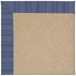 "Capel Rugs Creative Concepts Cane Wicker - Vierra Navy (455) Runner 2' 6"" x 10' Area Rug"