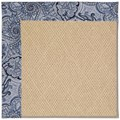 Capel Rugs Creative Concepts Cane Wicker - Paddock Shawl Indigo (475) Runner 2