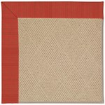"Capel Rugs Creative Concepts Cane Wicker - Vierra Cherry (560) Runner 2' 6"" x 10' Area Rug"