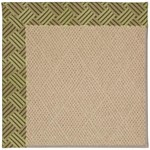 "Capel Rugs Creative Concepts Cane Wicker - Dream Weaver Marsh (211) Runner 2' 6"" x 12' Area Rug"