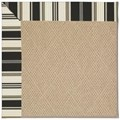 Capel Rugs Creative Concepts Cane Wicker - Down The Lane Ebony (370) Runner 2