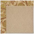 Capel Rugs Creative Concepts Cane Wicker - Cayo Vista Sand (710) Rectangle 3