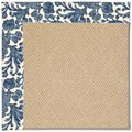 Capel Rugs Creative Concepts Cane Wicker - Batik Indigo (415) Rectangle 6
