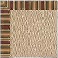 Capel Rugs Creative Concepts Cane Wicker - Weston Ginger (720) Rectangle 7