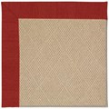Capel Rugs Creative Concepts Cane Wicker - Canvas Cherry (537) Rectangle 8