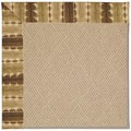 Capel Rugs Creative Concepts Cane Wicker - Java Journey Chestnut (750) Rectangle 8