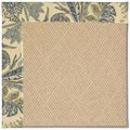Capel Rugs Creative Concepts Cane Wicker - Cayo Vista Ocean (425) Rectangle 8