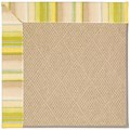 Capel Rugs Creative Concepts Cane Wicker - Kalani Coconut (615) Rectangle 9