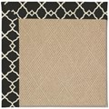Capel Rugs Creative Concepts Cane Wicker - Arden Black (346) Rectangle 10