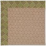 Capel Rugs Creative Concepts Grassy Mountain - Dream Weaver Marsh (211) Octagon 4' x 4' Area Rug