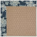 Capel Rugs Creative Concepts Grassy Mountain - Bandana Indigo (465) Octagon 4