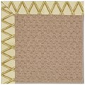 Capel Rugs Creative Concepts Grassy Mountain - Bamboo Rattan (706) Octagon 4