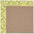 Capel Rugs Creative Concepts Grassy Mountain - Shoreham Kiwi (220) Octagon 6