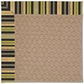 Capel Rugs Creative Concepts Grassy Mountain - Vera Cruz Coal (350) Octagon 6
