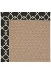 Capel Rugs Creative Concepts Grassy Mountain - Arden Black (346) Octagon 8' x 8' Area Rug