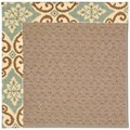 Capel Rugs Creative Concepts Grassy Mountain - Shoreham Spray (410) Octagon 12