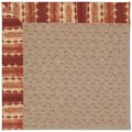 Capel Rugs Creative Concepts Grassy Mountain - Java Journey Henna (580) Octagon 12