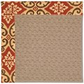 Capel Rugs Creative Concepts Grassy Mountain - Shoreham Brick (800) Runner 2