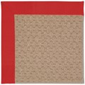 Capel Rugs Creative Concepts Grassy Mountain - Canvas Jockey Red (527) Rectangle 4