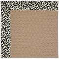 Capel Rugs Creative Concepts Grassy Mountain - Coral Cascade Ebony (385) Rectangle 8