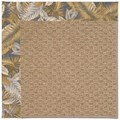Capel Rugs Creative Concepts Raffia - Bahamian Breeze Ocean (420) Octagon 4