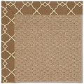 Capel Rugs Creative Concepts Raffia - Arden Chocolate (746) Octagon 4