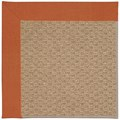 Capel Rugs Creative Concepts Raffia - Canvas Rust (837) Octagon 4