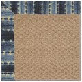 Capel Rugs Creative Concepts Raffia - Java Journey Indigo (460) Octagon 6