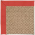 Capel Rugs Creative Concepts Raffia - Canvas Paprika (517) Octagon 6