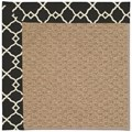 Capel Rugs Creative Concepts Raffia - Arden Black (346) Octagon 8