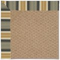Capel Rugs Creative Concepts Raffia - Long Hill Ebony (340) Octagon 12