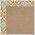 Capel Rugs Creative Concepts Raffia - Shoreham Spray (410) Octagon 12