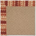 Capel Rugs Creative Concepts Raffia - Java Journey Henna (580) Octagon 12