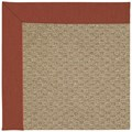 Capel Rugs Creative Concepts Raffia - Canvas Brick (850) Runner 2