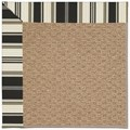 Capel Rugs Creative Concepts Raffia - Down The Lane Ebony (370) Rectangle 3