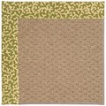 Capel Rugs Creative Concepts Raffia - Coral Cascade Avocado (225) Rectangle 4