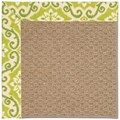 Capel Rugs Creative Concepts Raffia - Shoreham Kiwi (220) Rectangle 5