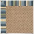 Capel Rugs Creative Concepts Raffia - Kalani Ocean (417) Rectangle 6