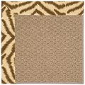 Capel Rugs Creative Concepts Raffia - Couture King Chestnut (756) Rectangle 7