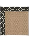 Capel Rugs Creative Concepts Raffia - Arden Black (346) Rectangle 8' x 10' Area Rug
