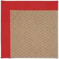 Capel Rugs Creative Concepts Raffia - Canvas Jockey Red (527) Rectangle 8