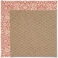 Capel Rugs Creative Concepts Raffia - Imogen Cherry (520) Rectangle 9