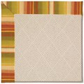 Capel Rugs Creative Concepts White Wicker - Kalani Samba (224) Octagon 4