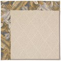 Capel Rugs Creative Concepts White Wicker - Bahamian Breeze Ocean (420) Octagon 4