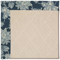 Capel Rugs Creative Concepts White Wicker - Bandana Indigo (465) Octagon 4
