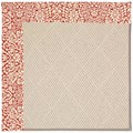 Capel Rugs Creative Concepts White Wicker - Imogen Cherry (520) Octagon 4