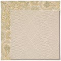 Capel Rugs Creative Concepts White Wicker - Paddock Shawl Mineral (310) Octagon 6